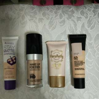 Make Up Forever, Rimmel,  Body Shop,  Keana Pate