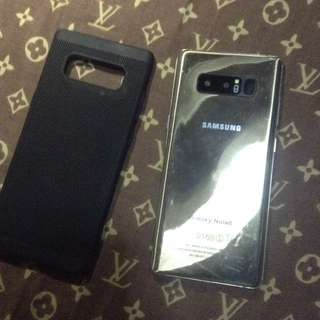 Samsung note 8 gold