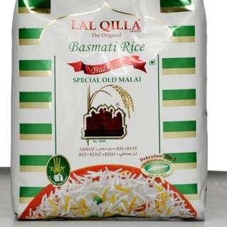 Basmati Rice Lal Qilla 5kg (Available 20.2.2018)