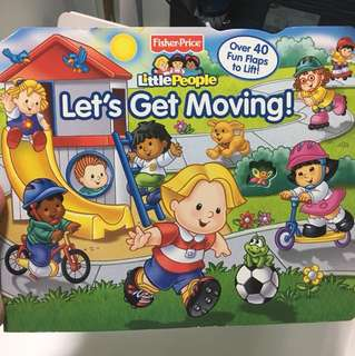 Fisher-Price Little People Let's Get Moving