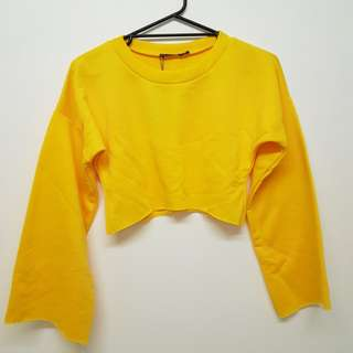 Cropped Yellow Jumper