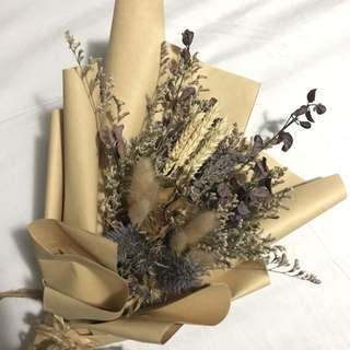 SALE! 😍 Valentines Everlasting Bouquet of Roses, Lavenders and Fillers!