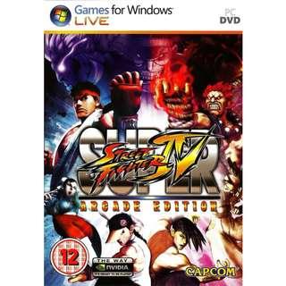 Super Street Fighter IV Arcade Edition (PC DVD)