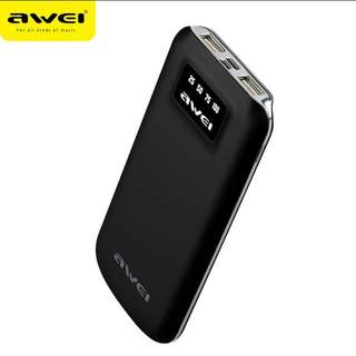 ⭐AWEI Power Bank 10,000 mAh⭐