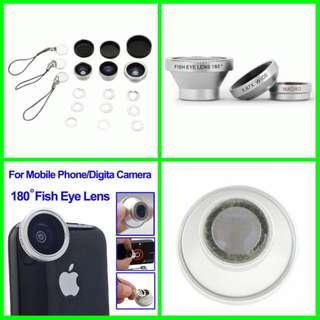 Fisheye for iPhone 5/5s/SE / iPad / Samsung galaxy S3 S4