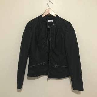 JACQUELINE de YONG – Faux Leather Jacket