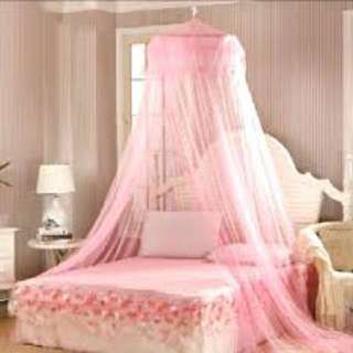 Ikea Ensta Bed Net in Pink