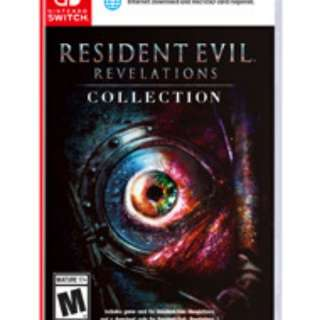 Resident Evil 2 in 1 nintendo switch video game