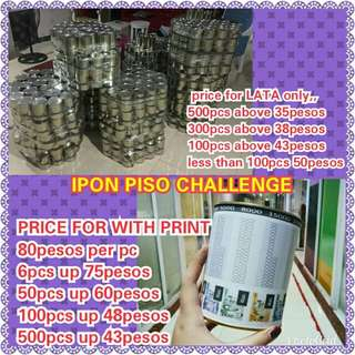 Ipon piso challenge