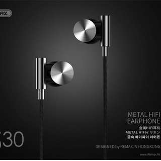Remax Metal Hifi Earphone (RM530)