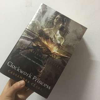 Cassanda Clare Clockwork Princess