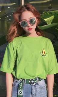 Uzzlang Avocado Shirt