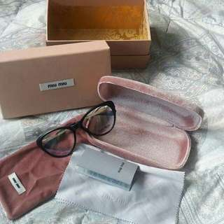 Miu Miu Cats Eye Glasses