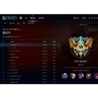 Korean accounts for sale