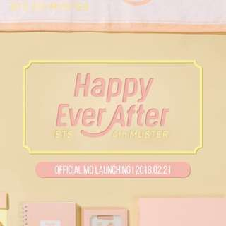[FAST GO] BTS 4th Muster Official MD