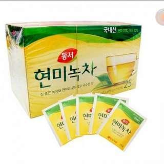 Rice tea from korea