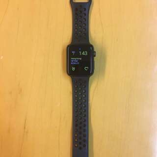 Apple Watch Nike+ Space Gray Aluminum Case with Anthracite/Black Nike Sport Band 42mm