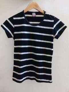 Black&white stripes shirt