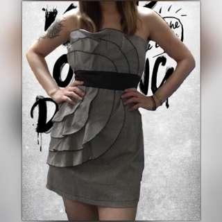 🚚 「2手」顯瘦平口小洋裝