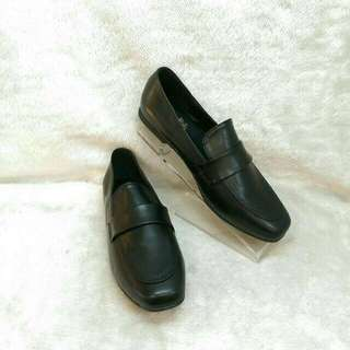 時尚簡約方頭平底紳士鞋 樂福 韓風 學院 $150