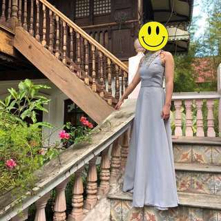 Light Grey Long Gown