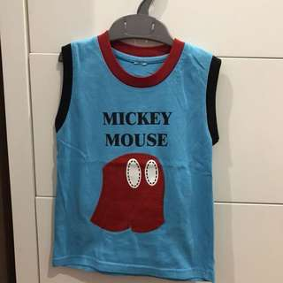 Mickey Mouse sleeveless top #15off