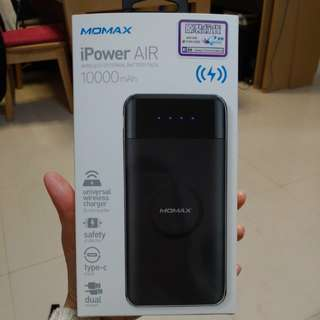 MOMAX iPower AIR wireless external battery pack