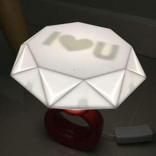 Ring-shaped lamp