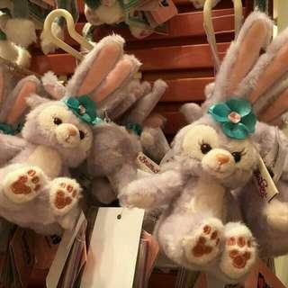 StellaLou 吊飾公仔 坐款 香港迪士尼樂園 Duffy Shelliemay Gelatoni Stella lou 迪士尼小熊 迪士尼小兔
