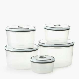 SM Home 5pcs round storage set