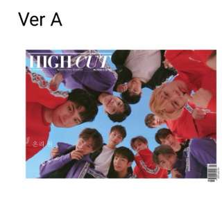[PreOrder] Wanna One High Cut Magazine