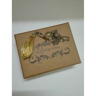 UPKURAMA Citrine Pendulum (黄水晶)