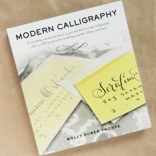 Modern calligraphy (molly suber thorpe)