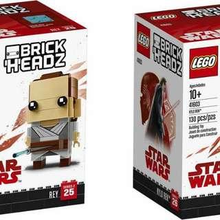 Lego Brickheadz 41602 & 41603