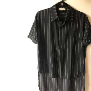 Korean Chiffon Shirt