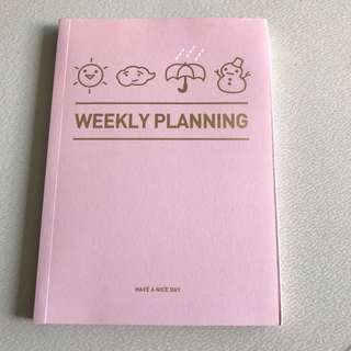New Artbox Personal Weekly Planning Organiser