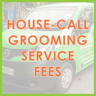 Low Stress Mobile Pet Grooming - House-Call Pet Grooming Service Fees by Pawrus Pet Grooming Studio