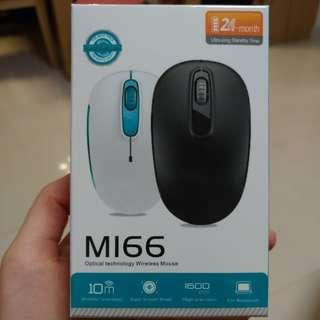 MI66 optical technology wireless mouse