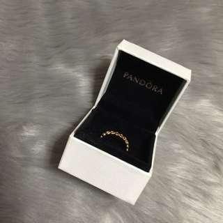 Pandora Rose Gold Heart Ring