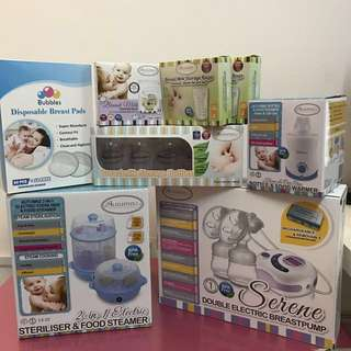 Breast Pump/ all new born needed