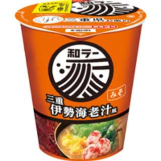 札幌三重伊勢蝦汁風味杯麵
