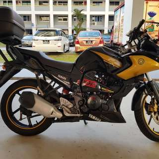 Yamaha FZ16 Grounding Service
