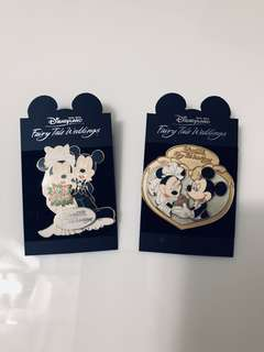 Mickey Mouse Pins Fairy Tale Weddings