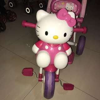 Hello Kitty Tricycle with Music Function
