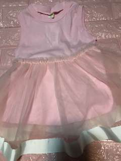 Clear Stock Sales !! Instock pink dress for 1-2yrs old brand new