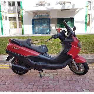 Cheap Piaggio X9 Scooter- Coe May 2022