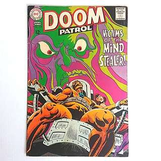 DC Comics Doom Patrol 119 Very Good Condition Silver Age