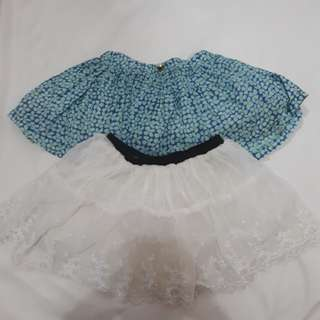Set cute skirts