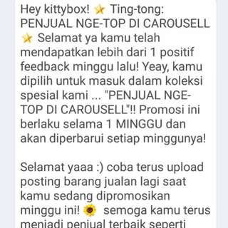 Carousell message