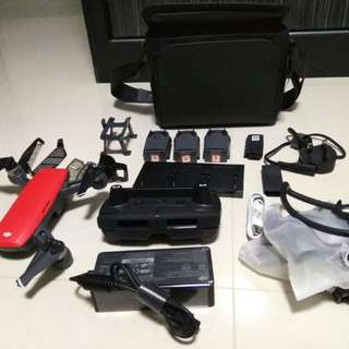 DJI Spark Fly More Combo with extras